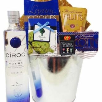 Bad Boy for Life Vodka Gift Basket