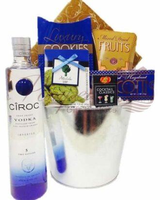 Bad Boy for Life Vodka Gift Basket