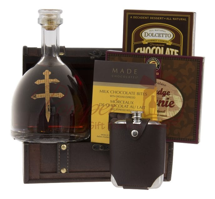 French History Cognac Gift Basket