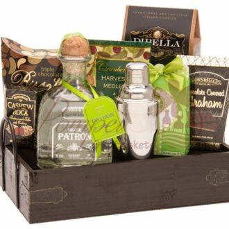 Margarita Party Tequila Gift Basket