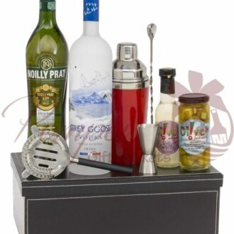 Martini Madness Vodka Gift Basket