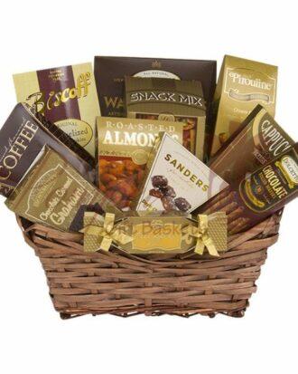 Snackers Delight Gourmet Basket