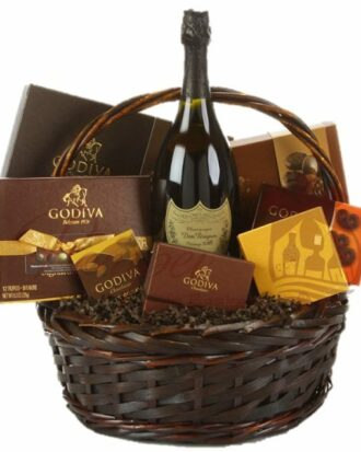 The Dom Diva Champagne Gift Basket