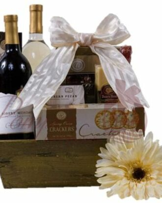 Just Because Wine Gift Basket