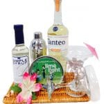 Tropical Tequila Cocktail Gift Basket