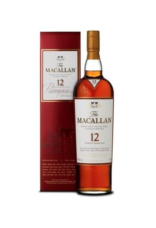 Macallan 12 Sherry Oak Cask Single Malt Scotch, Macallan 12 year, macallan sherry oak 12 year, Macallan single malt, Macallan Scotch, Engraved Macallan, Personalized Macallan, Customized Macallan, Macallan 12, 12 Year old macallan, 12 Year Old Macallan Single Malt, Single Malt Macallan, Sherry Oak 12 Year Macallan, Sherry Oak Single Malt Macallan