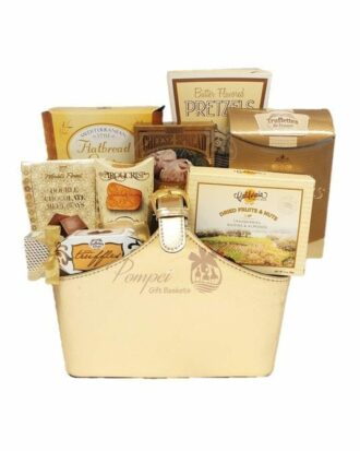 Gift of Gold Gourmet Gift Basket, High end Gift Basket, Cheap Gift basket, Free Delivery Gift Basket, Gift Baskets NJ