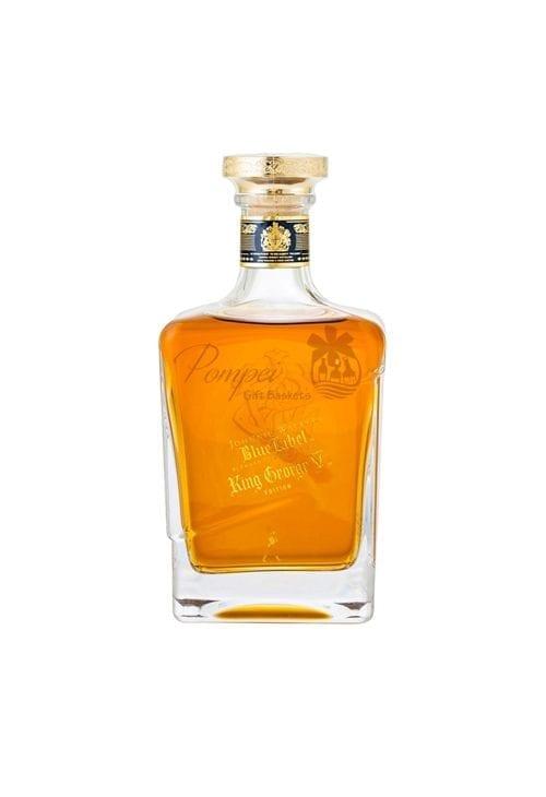 Johnnie Walker King George V Scotch Whiskey, Johnnie Walker King George V, JW King George, Johnnie Walker Engraved, Johnnie Walker King George V Engraved, Johnnie Walker Gifts NJ