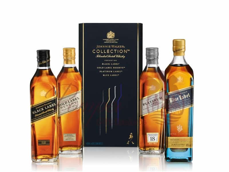 Johnnie Walker Collection Gift Set from