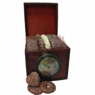 Cocoa Time Chocolate Gift Basket, chocolate gift basket, chocolate platter, chocolate box, free chocolate delivery, chocolate delivered, pompei gift baskets
