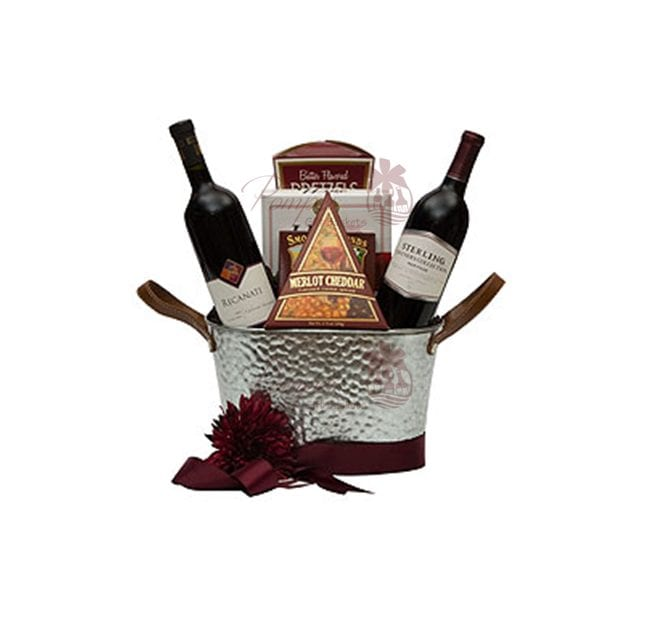 Wine And Cheese Baskets