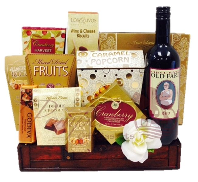 Wine And cheese Gift Baskets NYC