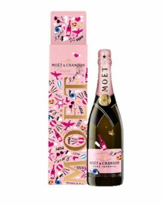 Moet & Chandon Rose Imperial Limited Edition Emoeticons, Moet Emoji Bottle, Valentines Day Moet, Emoji Moet and Chandon, Emoji Champagne, Emoticon Moet, Valentines Day Moet