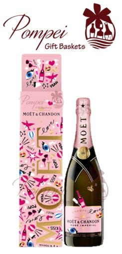 moet & chandon rose imperial limited edition emoticons