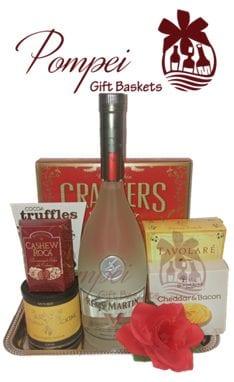 Guest of Honor Cognac Gift Basket