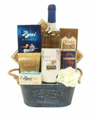 Toast to Spring Wine Gift Basket, Italian Wine Basket, Imported Italian Wines, Italian Basket NJ, Italian Basket NY, Spring Time Baskets, Cantina Offida Wine, Cantina Offida NJ, Cantina Offida NY