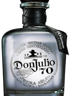 Don Julio Anejo 70th Anniversary Edition Tequila, Don Julio Claro, Don Julio 70, Don Julio Anejo 70