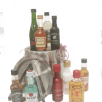 Premium Mini Bar Liquor Gift Basket
