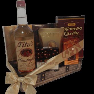 The Perfect Titos Vodka Gift Basket, Titos Gift Basket, Titos Vodka Gift Basket, Vodka Gift Basket, Titos Gift Basket, Gluten Free Vodka Gift Basket