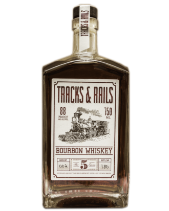 Claremont Distillery Tracks & Rails Bourbon Whiskey, Tracks and Rails Bourbon, Tracks and Rails Whiskey, Where to order Claremont Liquor, Claremont Distillery, Buy Claremont Bourbon Whiskey Online, New Jersey Gift basket