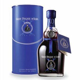 Gran Duque d'Alba Brandy XO, Gran Duque d'Alba Brandy XO Blue, Gran Duque d'Alba Blue, Engraved Gran Duque d'Alba Brandy XO, Brandy Gift Basket