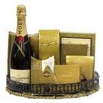 Moet Celebration Champagne Gift Basket