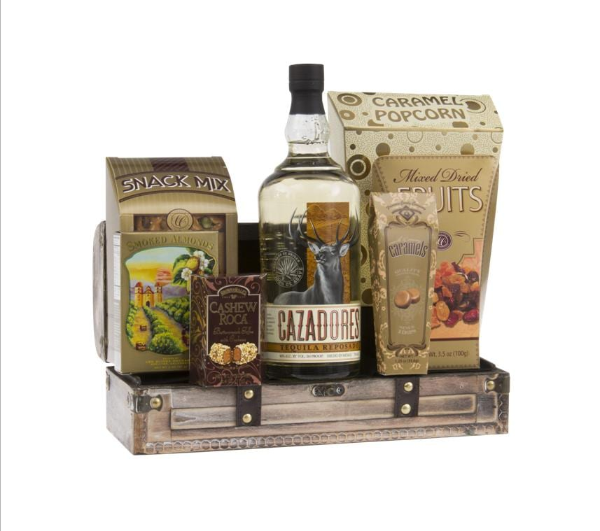 Hunter S Day Off Tequila Gift Basket By Pompei Baskets