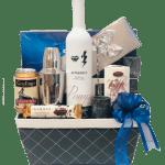 Something Blue Mezcal Gift Basket
