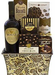 Bold Bogle Wine Gift Basket, Bogle Gift Basket, White Wine Gift Basket, Red Wine Gift Basket, Thank you gift basket, Bogle Phantom Gift Basket