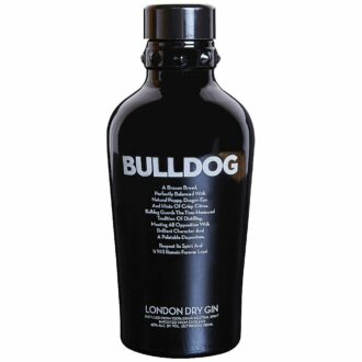Bulldog Gin, engraved bulldog gin, engraved gin, The Underbite Gin Gift Basket, bulldog gin gifts, gifts for dog lovers, gin gift basket, bulldog gift basket,
