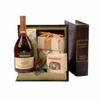 Chapter 1738 Cognac Gift Basket, remy 1738 gift basket, engraved remy 1738, remy boyz gifts, cognac gifts, new baby gifts for father, just remy all star gifts