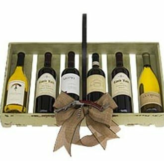 Countryside Collection Wine Gift Basket, sympathy gift basket, wine gift basket nj, wine gift basket ny, rustic wine gifts, engraved wine gifts