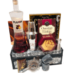 Sophisticated PLUSH Vodka Gift Basket