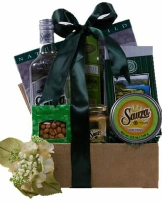 Sauza Wowza Tequila Gift Basket, Sauza Gift Basket, Sauza Gifts, Margarita gift baskets, Cocktail Gift Baskets, Silver Tequila gift baskets