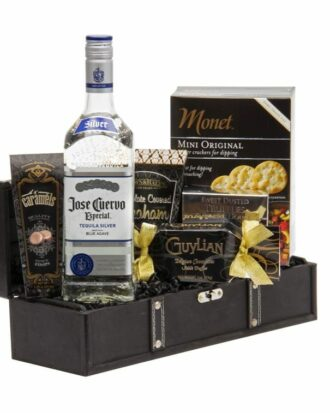 Especial Jose Cuervo Tequila Gift Basket, Tequila Gift basket, Jose Cuervo Gift basket, engraved jose cuervo, engraved tequila