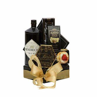 Ginny Hendricks Gin Gift Basket, Hendricks Gift Basket, Gin Gift Basket, Jimmy hendricks Gift Basket, Engraved Hendrick's Gin