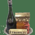 Simple Cava Sparkling Wine Gift Basket