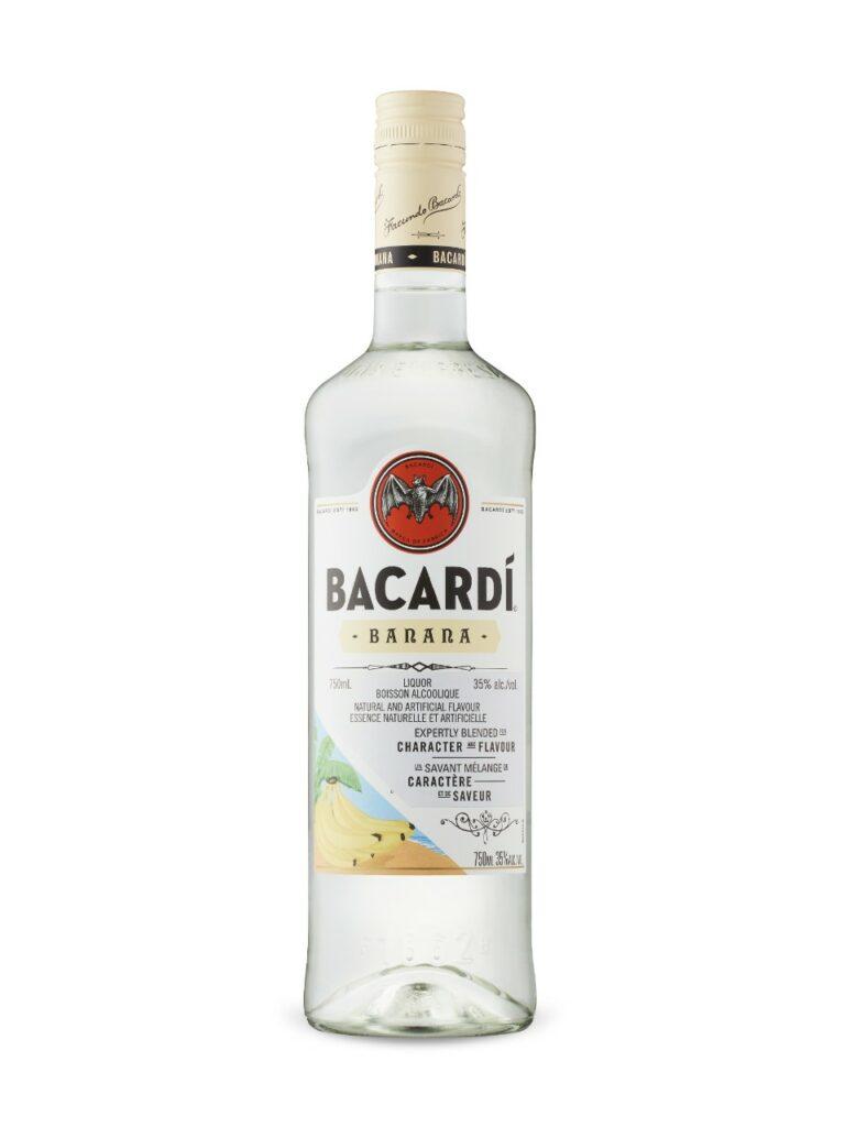 bacardi Banana rum, Banana Fosters Rum, Bacardi Gift Basket, Engrave Bacardi Rum, Dirty Monkey Cocktail Gift Basket