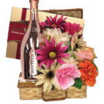 Pinkies Up Prosecco Gift Basket
