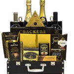Thank You Champagne and Wine Gift Basket